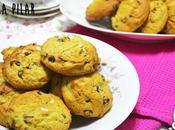 Cookies aguacate chips chocolate