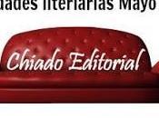 pierdas novedades Mayo Chiado Editorial