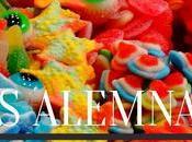 Probando dulces Alemanes