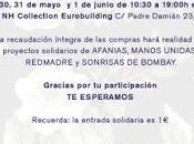 Rastrillo Solidario Grupo Cortefiel Primavera
