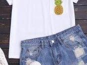 camisetas zaful para verano!!!