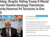 """Socios para paz"": Autoridad Palestina homenajea terroristas mes."