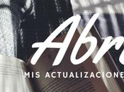 actualizaciones literarias (Abril, 2017)