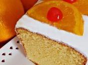 Bizcocho Naranja Glaseado