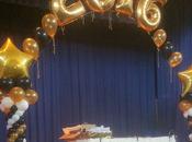 Decora graduación arreglos Globos