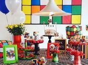 Fiesta temática cubo rubik