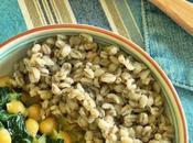 Curry espinacas garbanzos cebada
