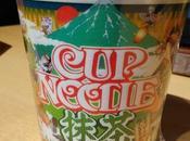 Nissin noodles sabor Matcha/日清カップルードル抹茶仕立てのシーフード味