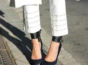 pantalon chaleco total look blanco