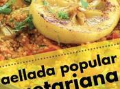 Paellada popular vegetariana Fuenlabrada. Junio.
