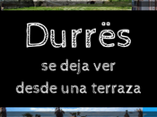 Durrës deja desde terraza