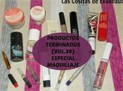 Productos Terminados (Vol.38) Especial Maquillaje