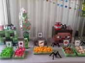 Decoración fiesta infantil Minecraft