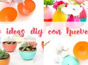 IDEAS para decorar HUEVERAS