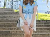 Outfit verano falda lencera