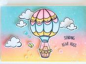 Waffleflower balloon bear hugs