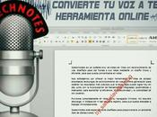 Speechnotes: Convierte Texto Forma Online