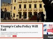 Pronostica fracaso política Trump hacia Cuba exasesor Obama