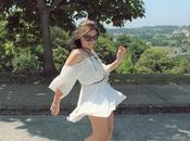 White Dress Brown