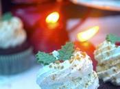 Cupcakes turrón Jijona chocolate.