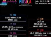 Conciertos gratis centro Madrid Lori Meyers, L.A., Rayden, Antonio Carmona, Andrés Suárez, Morat...