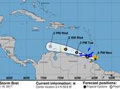 ATENTOS: formado Tormenta Tropical BRET. alerta Trinidad, Venezuela Islas Barlovento!