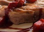 Secreto ibérico Salsa fresas vino
