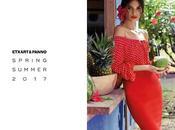 colección vestidos fiesta 2017 Etxart Panno enamora colorido feminidad
