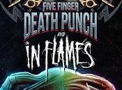Five Finger Death Punch volverán España diciembre acompañados Flames Mice