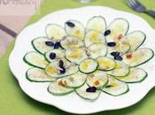 Carpaccio pepino frutos secos