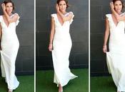 Topqueens long white dress: este vestido casaba tercera vez!!