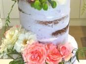 Naked Cakes Flores Naturales