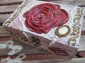 Como hacer decoupage relieve usando porcelana fria