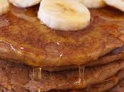 Tortitas veganas avena plátano