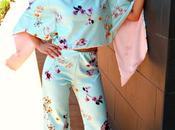 Look invitada pantalones estilo japonés