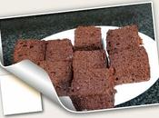 Brownie chocolate nueces