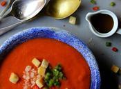 Gazpacho andaluz. Receta tradicional