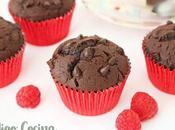 Magdalenas chocolate caseras esponjosas