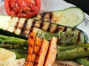 Cómo cuidarnos verano: parrillada verduras. Receta