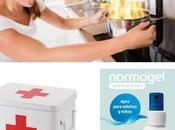 Quemaduras cocina alívialas Normogel