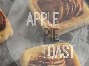 Apple Toast Desayuno sencillo