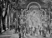 1882: iluminación Segunda Alameda para Ferias Santiago.