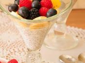Yogur kéfir chía frutos rojos
