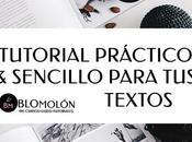 Tutorial Práctico Sencillo Para Textos