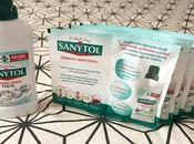 Probando Sanytol Desinfectante Textil.
