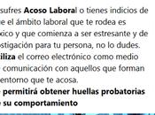 fuerza probatoria correo electrónico casos Acoso Laboral