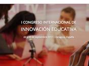 Congreso Internacional Innovación Educativa septiembre Zaragoza
