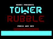 Tower Rubble nuevo adictivo juego para Amstrad creado BASIC