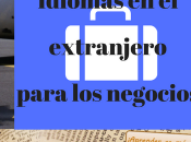 Idiomas extranjero para negocios
