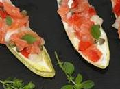 Endibias salmón ahumado